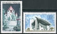 (1964) MiNr. 1482 - 1483 ** - Francie - turistická místa