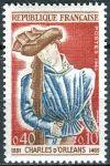 (1965) MiNr. 1503 ** - Francie - 500. výročí úmrtí Charlese d'Orléans