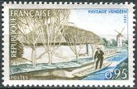 (1965) MiNr. 1518 ** - Francie - krajiny