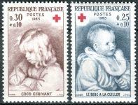 (1965) MiNr. 1532 - 1533 ** - Francie - Červený kříž