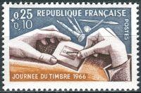 (1966) MiNr. 1540 ** - Francie - Den známky