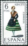 (1967) MiNr. 1663 ** - Španělsko - Šaty (II)