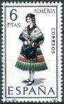 (1967) MiNr. 1681 ** - Španělsko - Šaty (IV.) Almería
