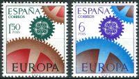 (1967) MiNr. 1682 - 1683 ** - Španělsko - Europa