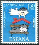 (1967) MiNr. 1688 ** - Španělsko - Den národních charit