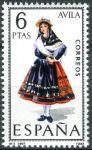 (1967) MiNr. 1689 ** - Španělsko - Šaty (V.) Avila