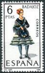 (1967) MiNr. 1690 ** - Španělsko - Šaty (VI.) Badajoz