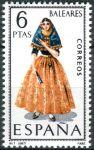 (1967) MiNr. 1691 ** - Španělsko - Šaty (VII)