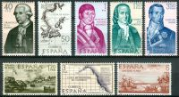 (1967) MiNr. 1711 - 1718 ** - Španělsko - Objevení a dobytí Ameriky (VIII): Aljaška