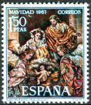 (1967) MiNr. 1732 ** - Španělsko - Vánoce