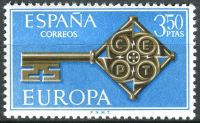 (1968) MiNr. 1755 ** - Španělsko - Europa