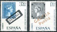 (1968) MiNr. 1756 - 1757 ** - Španělsko - Světový den známky