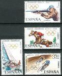 (1968) MiNr. 1777 - 1780 ** - Španělsko - Letní olympijské hry, Mexico City