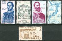 (1968) MiNr. 1782 - 1786 ** - Španělsko - Objev a dobytí Ameriky (IX): Venezuela