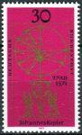 (1971) MiNr. 688 ** - Německo - 400. narozeniny Johannese Keplera