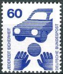 (1971) MiNr. 701 A ** - Německo - Prevence nehod (I)