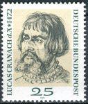 (1972) MiNr. 718 ** - Německo - 500. narozeniny Lucas Cranach d. Ä.
