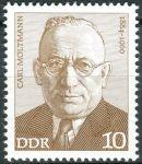 (1974) MiNr. 1917 ** - DDR - Osobnosti německého labouristického hnutí (II)