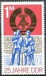 (1974) MiNr. 1983 ** - DDR - 25 let DDR