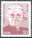 (1975) MiNr. 2012 ** - DDR - Osobnosti německého labouristického hnutí (III)