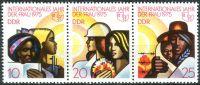 (1975) MiNr. 2019 - 2021 ** - DDR - 3-bl - Mezinárodní rok ženy