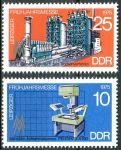(1975) MiNr. 2023 - 2024 ** - DDR - Lipský jarní veletrh