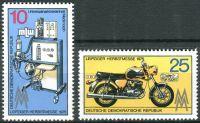 (1975) MiNr. 2076 - 2077 ** - DDR - Lipský podzimní veletrh