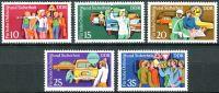 (1975) MiNr. 2078 - 2082 ** - DDR - Bezpečnost silničního provozu (III)