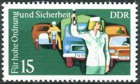 (1975) MiNr. 2079 ** - DDR - Bezpečnost silničního provozu (III)