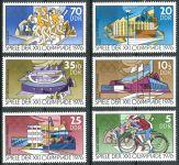 (1976) MiNr. 2126 - 2131 ** - DDR - Letní olympijské hry, Montreal