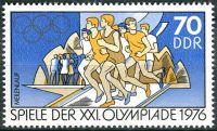 (1976) MiNr. 2131 ** - DDR - Letní olympijské hry, Montreal