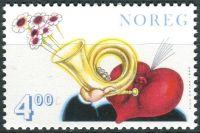 (1999) MiNr. 1306 ** - Norsko - svátek svatého Valentýna