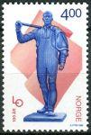 (1999) MiNr. 1312 ** - Norsko - 100 let norské federace odborových svazů