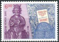 (1999) MiNr. 1314 ** - Norsko - Milénium (I): Křesťanizace Norska (kolem roku 1000)