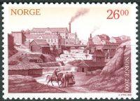 (1999) MiNr. 1316 ** - Norsko - Milénium (I): Industrializace (od roku 1850)