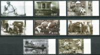 (1999) MiNr. 1321 - 1328 ** - Norsko - Milénium (II): Obrazy každodenního života
