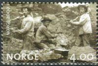 (1999) MiNr. 1322 ** - Norsko - Milénium (II): Železniční konstrukce (kolem roku 1900)