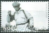 (1999) MiNr. 1326 ** - Norsko - Milénium (II): Lyžař (1932)