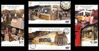 (2017) MiNr. 2480 - 2483 ** - Singapur - Otevření renovované hlavní pošty