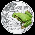 (2018) 3 Euro - Rakousko - Žába (UNC)