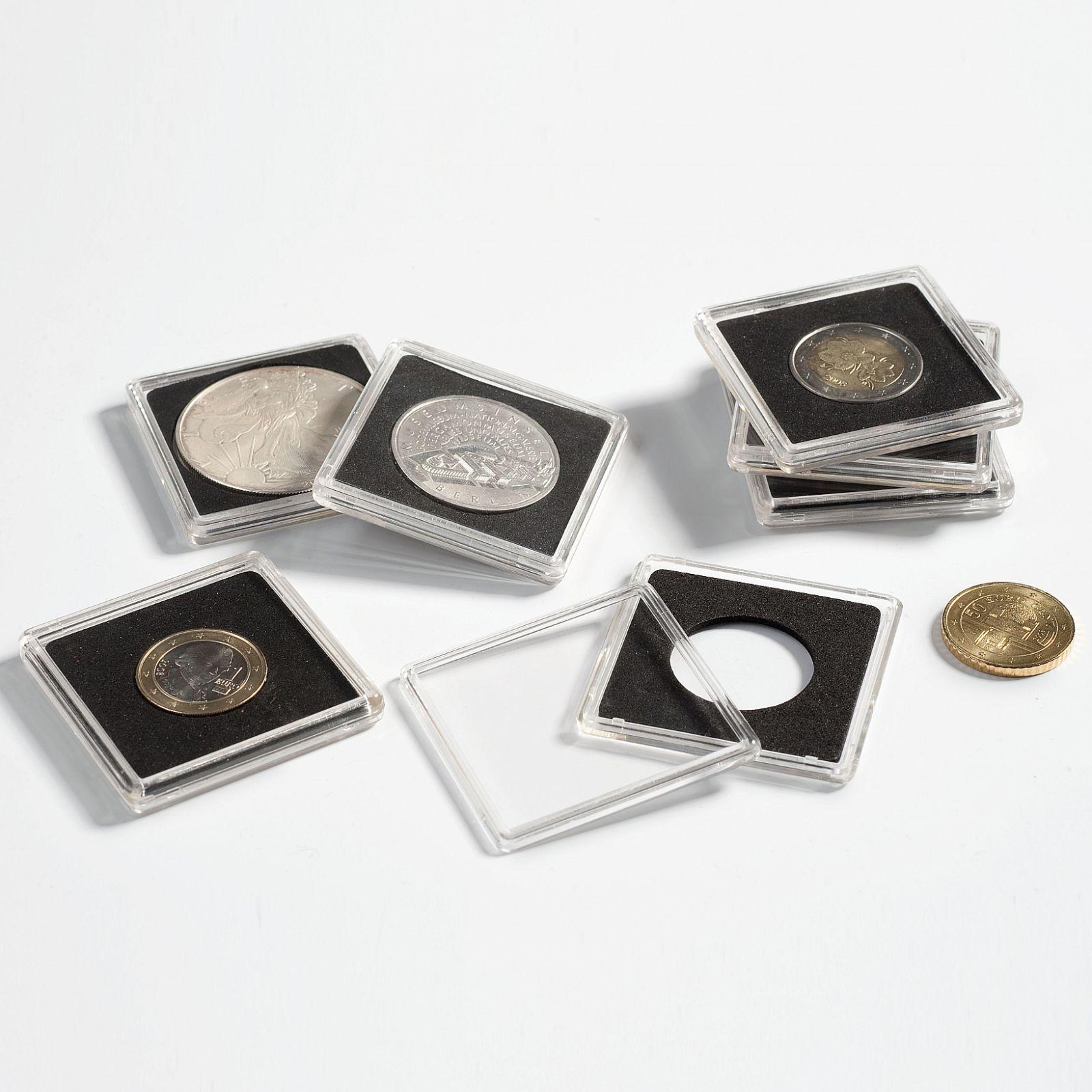 QUADRUM kapsle na mince - vnitřní Ø 23 mm