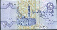 Egypt - (P 57h.6) 25 PIASTRŮ (2008) - UNC