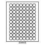 MB - box, na 88 mincí bez bublinek - průměr 21,5 mm