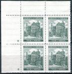 (1940) č. 44 ** - B.u.M. - 4-bl - široký o. - Krajiny, hrady a města - Pardubice - d.z.*