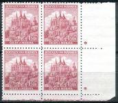 (1941) č. 58 ** - B.u.M. - 4-bl - úzký okraj - Krajiny, hrady, města - Kutná Hora - d.z. +