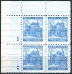 (1941) č. 59 ** - B.u.M. - 4-bl - široký o. - Krajiny, hrady, města - Pardubice - d.z. **