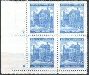 (1941) č. 59 ** - B.u.M. - 4-bl - ú.o. - Krajiny, hrady, města - Pardubice - d.z. *