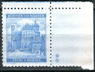 (1941) MiNo. 70 ** - B.u.M. - Landscapes, castles, towns - Pardubice d.z. **