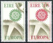 (1967) MiNr. 192 - 193 ** - Irsko - Europa