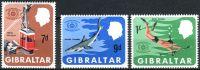 (1967) MiNr. 202 - 204 ** - Gibraltar - Mezinárodní rok cestovního ruchu
